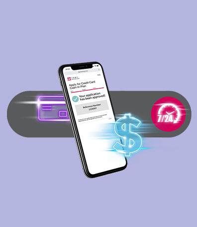 Credit Card Cash-In Plan